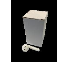 Картонная коробка Белая 36х36х70 мм