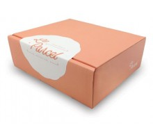 Красочная коробка и логотипом