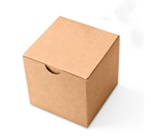 Маленькая коробка 100х100х100 мм Крафт